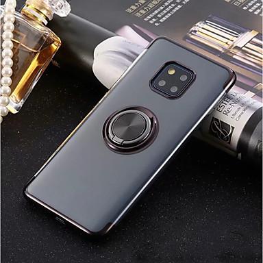 voordelige Huawei Mate hoesjes / covers-hoesje Voor Huawei Huawei P20 / Huawei P20 Pro / Huawei P20 lite Ringhouder / Ultradun / Transparant Achterkant Effen Zacht TPU
