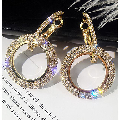 4d45ae457 cheap Earrings-Women's Hollow Out Drop Earrings Imitation Diamond  Earrings stardust