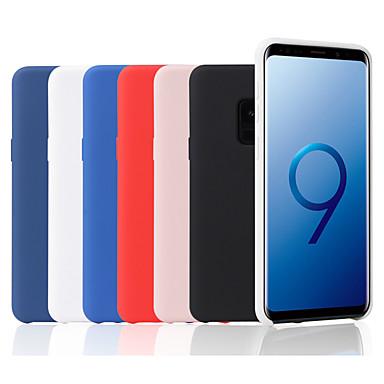 voordelige Galaxy S-serie hoesjes / covers-hoesje Voor Samsung Galaxy S9 / S9 Plus / S8 Plus Mat Achterkant Effen Zacht Siliconen