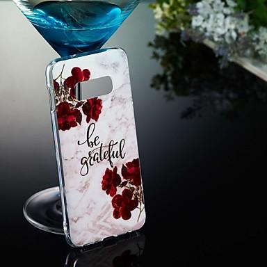 economico Galaxy S3 Custodie / cover-Custodia Per Samsung Galaxy S9 / S9 Plus / S8 Plus Fantasia / disegno Per retro Effetto marmo Morbido TPU
