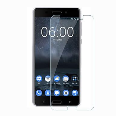 billige Skærmbeskyttelse til Nokia-Skærmbeskytter for Nokia Nokia 6 Hærdet Glas 1 stk Skærmbeskyttelse 9H hårdhed / Ridsnings-Sikker