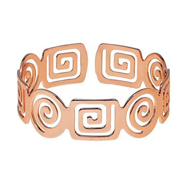 Women's Retro Cuff Bracelet - Asian Bracelet Jewelry Silver / Rose Gold / Champagne For Ceremony Festival