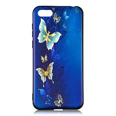 coque huawei y6 2018 papillon