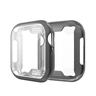 Hülle Für Apple Apple Watch Series 4 / Apple Watch Series 4/3/2/1 / Apple Watch Series 3 Silikon Apple