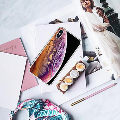voordelige iPhone 6 hoesjes-hoesje Voor Apple iPhone XS / iPhone XR / iPhone XS Max Patroon Achterkant Camouflage Kleur / Olieverfschilderij Zacht TPU