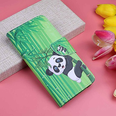 Case For Huawei P20 Pro / P20 lite Wallet / Card Holder / with Stand Full Body Cases Plants / Panda Hard PU Leather for Huawei P20 / Huawei P20 Pro / Huawei P20 lite