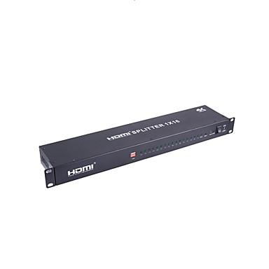 HDMI 1.4 distributør, HDMI 1.4 til HDMI 1.4 distributør Han - Hun 4K*2K 2,5 Gbps