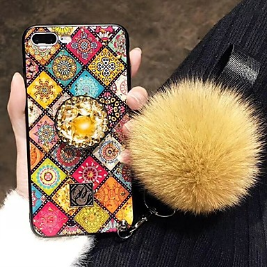 voordelige Huawei Mate hoesjes / covers-hoesje Voor Huawei Huawei P20 / Huawei P20 Pro / Huawei P20 lite Schokbestendig / Strass Achterkant Strass Hard TPU / P10 Plus / P10 Lite / P10 / Mate 9 Pro