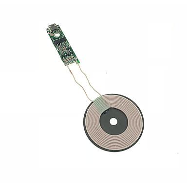 Недорогие Гаджеты для Samsung-Cwxuan Беспроводное зарядное устройство Зарядное устройство USB USB Беспроводное зарядное устройство / Qi 1 A DC 5V для iPhone X / iPhone 8 Pluss / iPhone 8