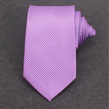 economico Abbigliamento uomo-Per uomo Da ufficio Cravatta A strisce