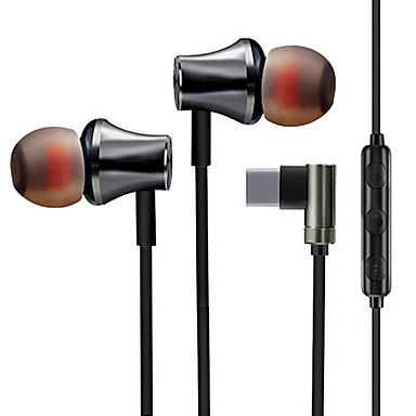 Factory OEM ms25 I øret Ledning Hovedtelefoner Høretelefon Mobiltelefon øretelefon Stereo / Med Mikrofon / Med volumenkontrol Headset