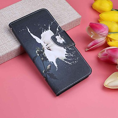 Case For Huawei P20 Pro / P20 lite Wallet / Card Holder / with Stand Full Body Cases Flower Hard PU Leather for Huawei P20 / Huawei P20 Pro / Huawei P20 lite