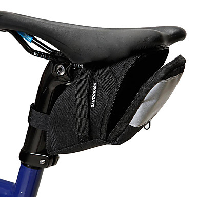 ROSWHEEL حقيبة السراج للدراجة مكتشف الأمطار شرائط عاكسة مضاعف حقيبة الدراجة 600D بوليستر حقيبة الدراجة حقيبة الدراجة أخضر الدراجة