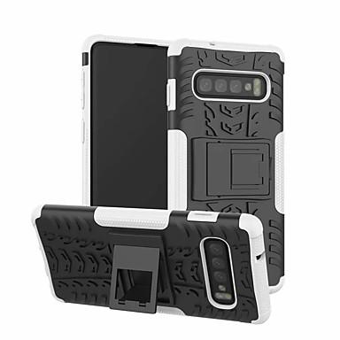 voordelige Galaxy S-serie hoesjes / covers-hoesje Voor Samsung Galaxy S9 / S9 Plus / Galaxy S10 met standaard Achterkant Schild Hard Muovi