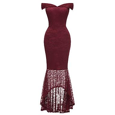 dc5fd13a5ccc cheap Prom Dresses-Women's Bodycon Dress Navy Blue Purple Wine L