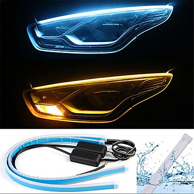 cheap Daytime Running Lights-2pcs Wire Connection Car Light Bulbs 13 W SMD 2835 800 lm 168 LED Daytime Running Lights / Turn Signal Lights / Tail Lights For universal All years