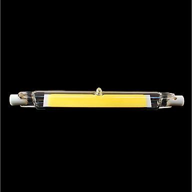 SENCART 1st 9 W Rörglödlampa 900 lm R7S T 1 LED-pärlor COB Vattentät Roterbar Bimbar Varmvit Kallvit 220-240 V