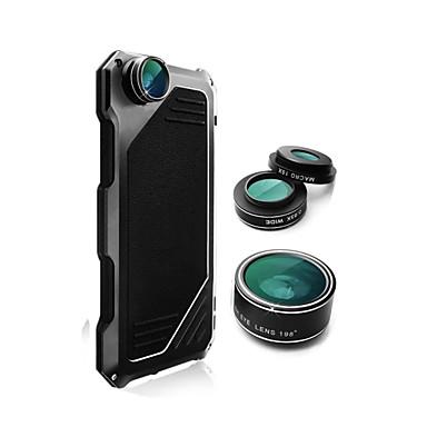 Недорогие Кейсы для iPhone-Кейс для Назначение Apple iPhone XS / iPhone XR / iPhone XS Max Защита от удара / Защита от пыли Чехол Однотонный Твердый силикагель / Металл
