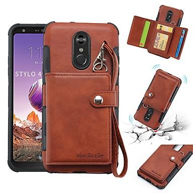 Case For LG LG Q Stylus / LG Stylo 4 Wallet / Card Holder