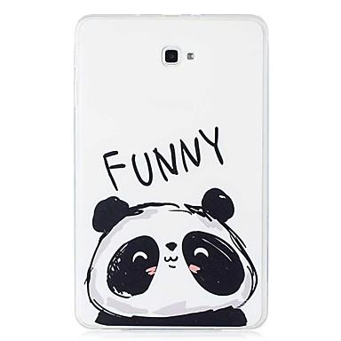 voordelige Samsung Tab-serie hoesjes / covers-hoesje Voor Samsung Galaxy Tab E 9.6 / Tab A 10.1 (2016) Patroon Achterkant Panda Zacht TPU
