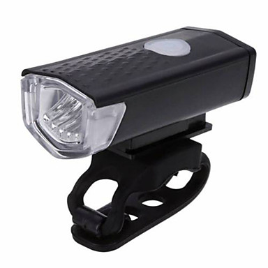cheap Bike Lights-LED Bike Light Front Bike Light Headlight XP-G2 Mountain Bike MTB Cycling Waterproof Portable Easy to Install Li-polymer 300 lm Rechargeable Battery White Camping / Hiking / Caving Cycling / Bike