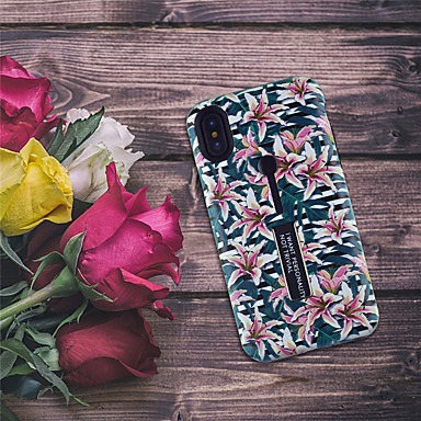 Etui Til Apple iPhone XR / iPhone XS Max Mønster Bagcover Blomst Blødt TPU for iPhone XS / iPhone XR / iPhone XS Max