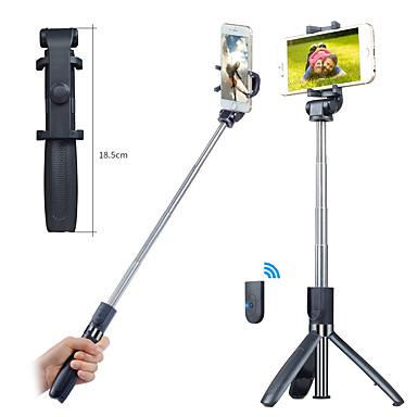 halpa Selfiekeppi-APEXEL Selfie-tikku Bluetooth Pidennettävä Maksimi pituus 70 cm Käyttötarkoitus Kansainvälinen Android / iOS Universaali