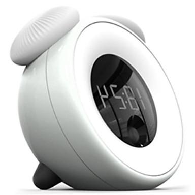 Недорогие Оригинальные гаджеты-новинка многофункциональные часы из светодиодов свет творческий интеллектуальный датчик касания затемнения ночник повтора будильник USB зарядки