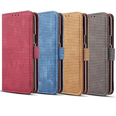 Θήκη Za Samsung Galaxy Note 9 / Note 8 Utor za kartice / Zaokret Korice Jednobojni Tvrdo PU koža za Note 9 / Note 8