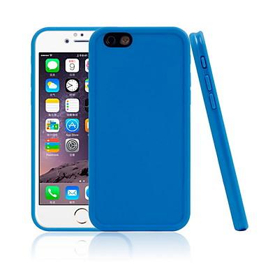 voordelige iPhone X hoesjes-hoesje Voor Apple iPhone X / iPhone 8 Plus / iPhone 8 Waterbestendig Achterkant Effen Zacht TPU