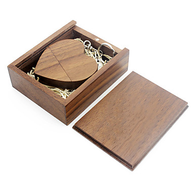 economico Chiavette USB-Ants 8GB chiavetta USB disco usb USB 2.0 Legno / Bambù love wooden gift box