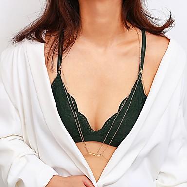 preiswerte Körperschmuck-Damen Körperschmuck 70 cm Körper-Kette / Bauchkette Gold / Silber Aleación Modeschmuck Für Party / Geschenk / Formal Sommer
