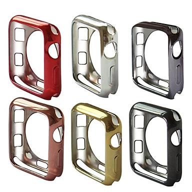 Недорогие Кейсы для Apple Watch-для яблочных часов серии 4 3 2 1 iwatch 38/42/40 / 44мм тонкий мягкий тпу защитный чехол