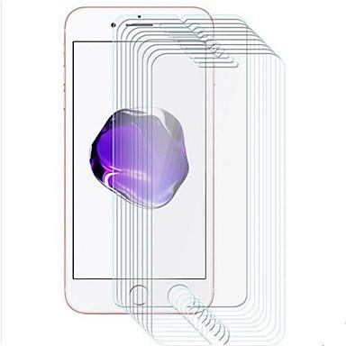 Недорогие Защитные плёнки для экрана iPhone-AppleScreen ProtectoriPhone 8 Pluss HD Защитная пленка для экрана 10 ед. Закаленное стекло