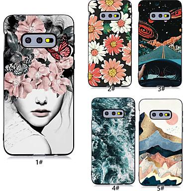 voordelige Galaxy S-serie hoesjes / covers-hoesje Voor Samsung Galaxy S9 / S9 Plus / S8 Plus Patroon Achterkant Sexy dame / Bloem Zacht TPU