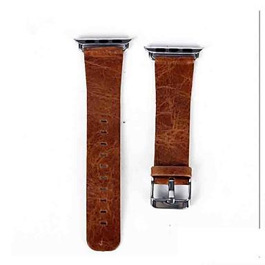 voordelige Smartwatch-accessoires-Horlogeband voor Apple Watch Series 5/4/3/2/1 Apple Klassieke gesp Echt leer Polsband
