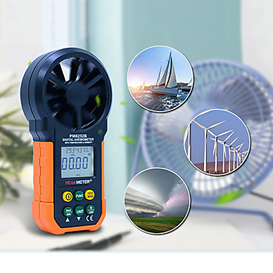 ms6252b anemometru digital viteza vântului măsurarea volumului aerului usb încărcarea datelor umiditatea aerului rh usb port