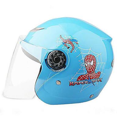 저렴한 헬맷 & 마스크-하프헬맷 아동 남아 / 여아 오토바이 헬멧 쉬운 드레싱 / 아동 안전 케이스 / 울트라 라이트 (UL)