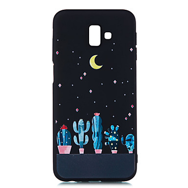 voordelige Galaxy J-serie hoesjes / covers-hoesje Voor Samsung Galaxy J8 (2018) / J7 Prime / J7 (2017) Mat / Patroon Achterkant Landschap Zacht TPU