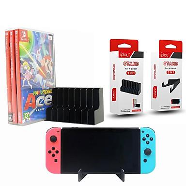 olcso Videojáték tartozékok-állvány / fogantyú tartó nintendo kapcsolóhoz, kreatív állvány / fogantyú tartó pp 2 db egység