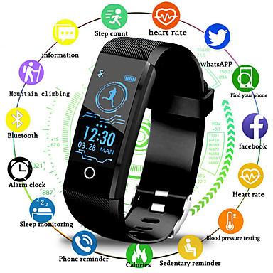 billige Herreure-Herre Digital Watch Digital Silikone Sort / Blåt / Rød 30 m Vandafvisende Bluetooth Smart Digital Udendørs Mode - Sort Rød Blå Et år Batteri Levetid