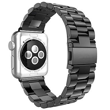 billige Telefontilbehør-Klokkerem til Apple Watch Series 5/4/3/2/1 / Apple Watch Series 4/3/2/1 Apple Moderne spenne Rustfritt stål Håndleddsrem