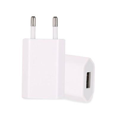 Недорогие Аксессуары для мобильных телефонов-портативное зарядное устройство usb зарядное устройство us plug нормальный 1 usb порт 1 100 ~ 240 В для универсального