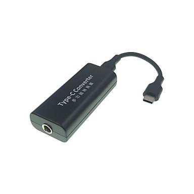 abordables Câbles pour Mac-Type-C Adaptateur Haut débit / Charge rapide ABS + PC Adaptateur de câble USB Pour Macbook / Samsung / Huawei