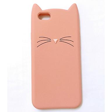 voordelige iPhone 5 hoesjes-hoesje Voor Apple iPhone XR / iPhone XS Max / iPhone X Patroon Achterkant dier / Cartoon Zacht Siliconen