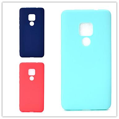 voordelige Huawei Y-serie hoesjes / covers-hoesje Voor Huawei Huawei Nova 3i / Honor 10 Lite / Huawei Honor 9 Lite Ultradun Achterkant Effen Zacht TPU