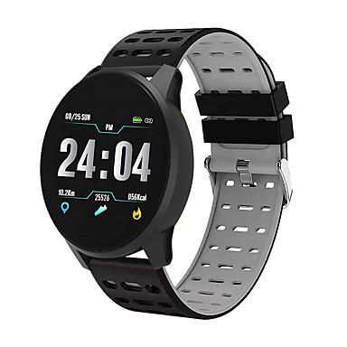 levne Pánské-Pánské Sportovní hodinky Digitální Silikon Červená / Zelená / Šedá 30 m Voděodolné Bluetooth Smart Digitální Na běžné nošení Módní - Černá / červená Černá / Modrá Black / Gray / Chronograf