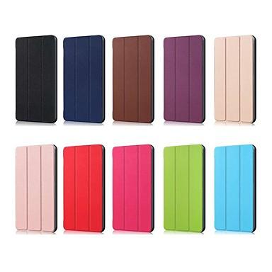 ieftine Carcase / Huse de Huawei-Maska Pentru Huawei MediaPad M5 10 (Pro) / Huawei Mediapad M5 Lite 10 Anti Șoc / Cu Stand / Ultra subțire Carcasă Telefon Mată Greu PU piele pentru Huawei Mediapad M5 Lite 10 / MediaPad M5 10 (Pro