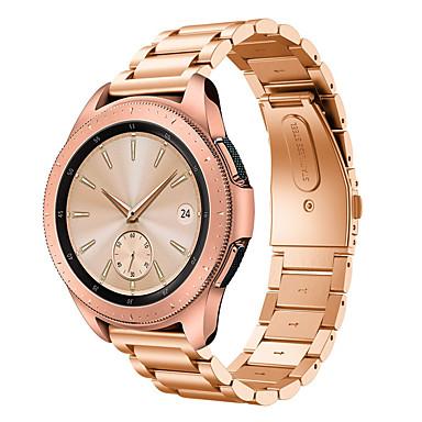 voordelige Horlogebandjes voor Samsung-Horlogeband voor Gear S2 / Gear S2 Classic / Samsung Galaxy Watch 42 Samsung Galaxy Butterfly Buckle Roestvrij staal Polsband