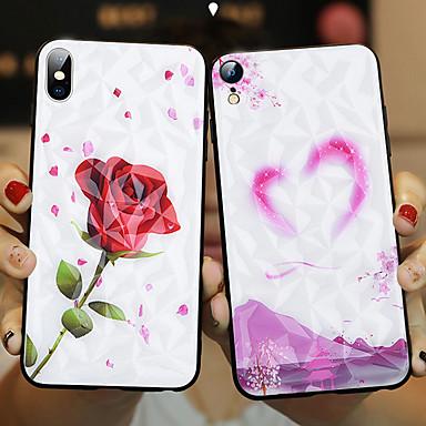 Недорогие Кейсы для iPhone-чехол для appleiphone xs / iphone xs max противоударная задняя крышка для животных из закаленного стекла для iphone xs / iphone xs max